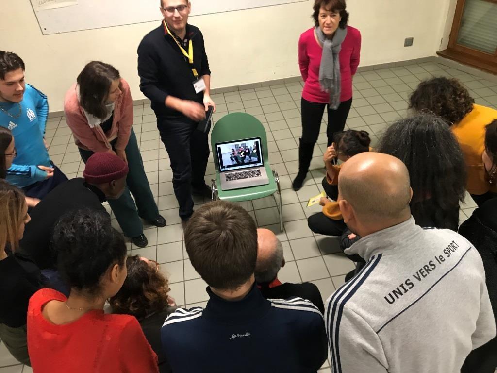 Faciliter l'expérience utilisateurs au profit d'Unis vers le sport (Facilitateurs d'Alsace - 5/12/18)