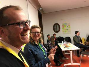 Rencontre publique des Facilitateurs d'Alsace (6/3/2019) - Marcellin et Marina