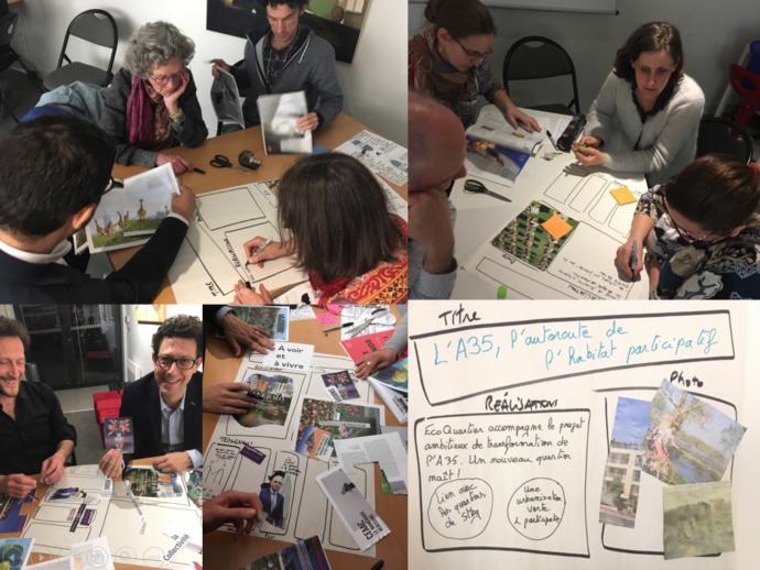 Rencontre des Facilitateurs d'Alsace avec l'association Eco Quartier Strasbourg du 2/4/2019