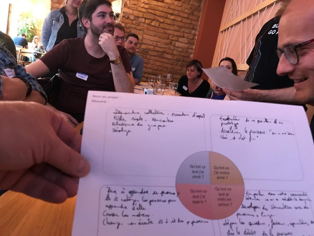 Rencontre du 27/5/19 entre Les Facilitateurs d'Alsace et FLUPA UX